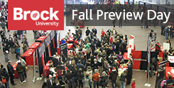 Brock Fall Preview Day